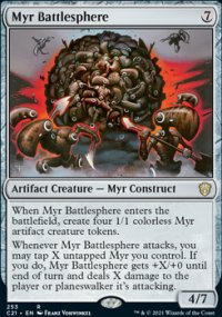 Myr Battlesphere - Commander 2021