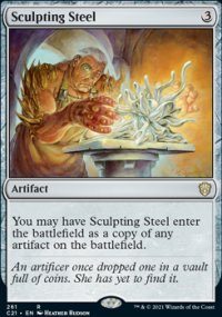 Sculpting Steel - Commander 2021