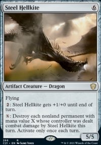 Steel Hellkite - Commander 2021