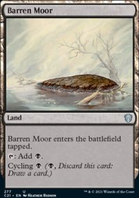 Barren Moor - Commander 2021