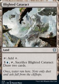 Blighted Cataract - Commander 2021