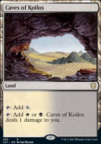 Caves of Koilos - Commander 2021