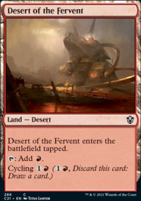Desert of the Fervent - Commander 2021