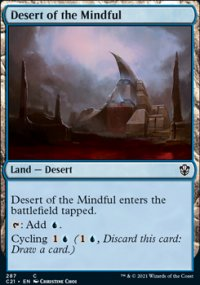 Desert of the Mindful - Commander 2021