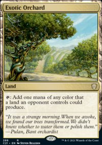 Exotic Orchard - Commander 2021