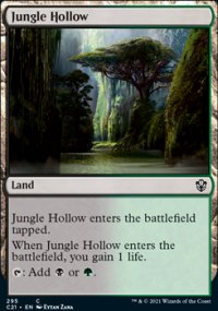 Jungle Hollow - Commander 2021