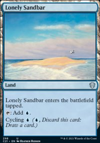 Lonely Sandbar - Commander 2021