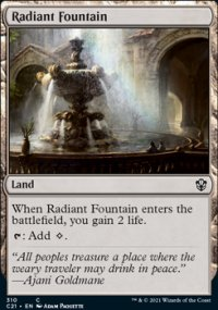 Radiant Fountain - Commander 2021