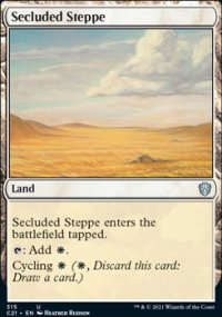 Secluded Steppe - Commander 2021