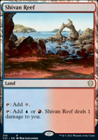 Shivan Reef - Commander 2021