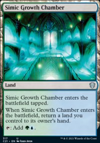 Simic Growth Chamber - Commander 2021