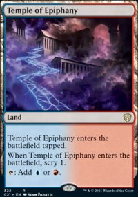 Temple of Epiphany - Commander 2021
