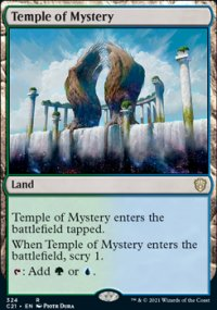 Temple of Mystery - Commander 2021