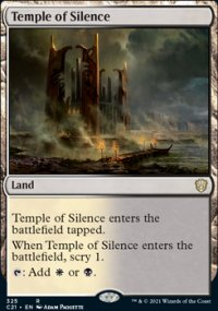 Temple of Silence - Commander 2021