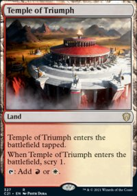 Temple of Triumph - Commander 2021