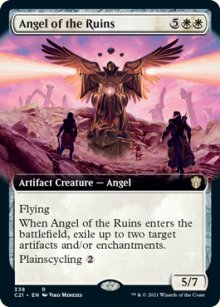 Angel of the Ruins 2 - Commander 2021