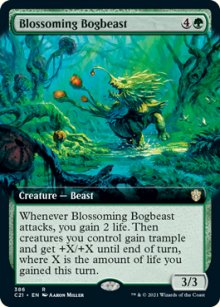Blossoming Bogbeast 2 - Commander 2021