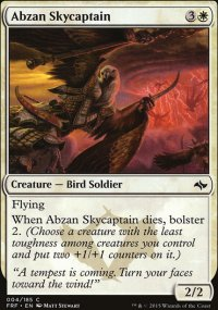 Abzan Skycaptain - Fate Reforged