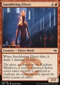Smoldering Efreet - Fate Reforged