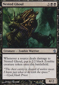 Nested Ghoul - Mirrodin Besieged