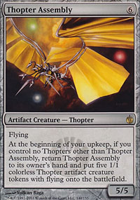 Thopter Assembly - Mirrodin Besieged