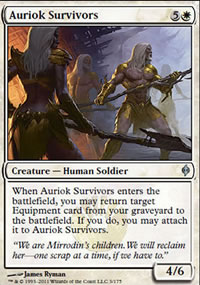 Auriok Survivors - New Phyrexia