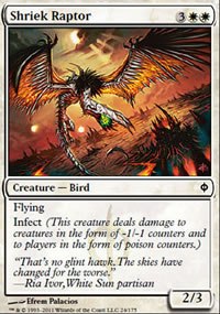 Shriek Raptor - New Phyrexia