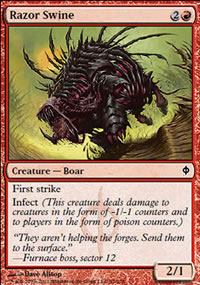 Razor Swine - New Phyrexia
