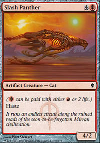 Slash Panther - New Phyrexia