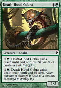 Death-Hood Cobra - New Phyrexia