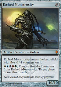 Etched Monstrosity - New Phyrexia