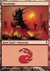 Mountain 1 - New Phyrexia