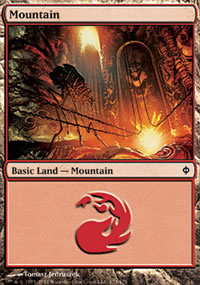 Mountain 2 - New Phyrexia