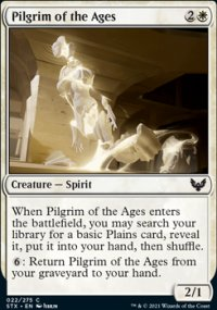 Pilgrim of the Ages - Strixhaven School of Mages