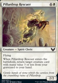 Pillardrop Rescuer - Strixhaven School of Mages