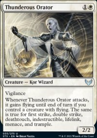 Thunderous Orator - Strixhaven School of Mages