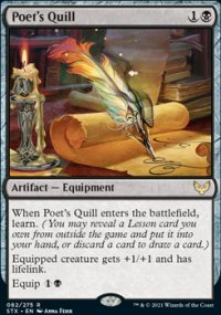 Poet's Quill 1 - Strixhaven School of Mages