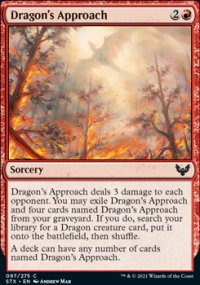 Dragon's Approach - Strixhaven School of Mages