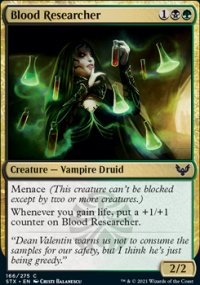 Blood Researcher - Strixhaven School of Mages