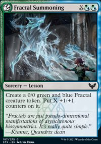 Fractal Summoning - Strixhaven School of Mages