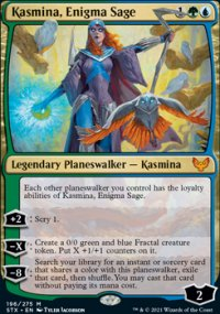 Kasmina, Enigma Sage 1 - Strixhaven School of Mages