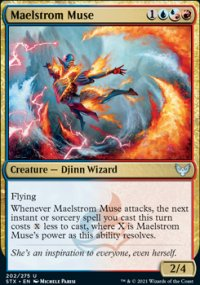Maelstrom Muse - Strixhaven School of Mages