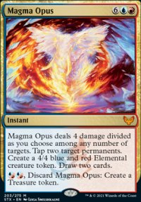 Magma Opus 1 - Strixhaven School of Mages