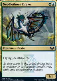 Needlethorn Drake - Strixhaven School of Mages