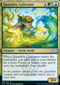 Quandrix Cultivator - Strixhaven School of Mages